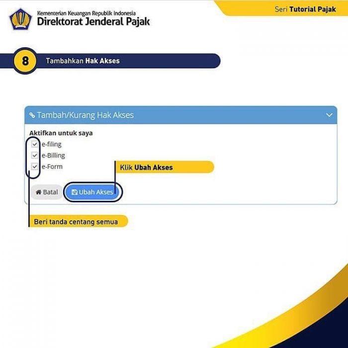 Registrasi DJP Online Aplikasi