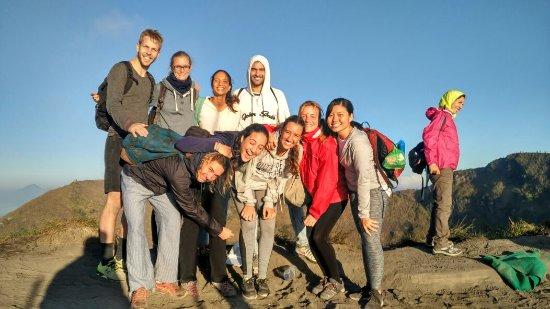 trekking di gunung Batur