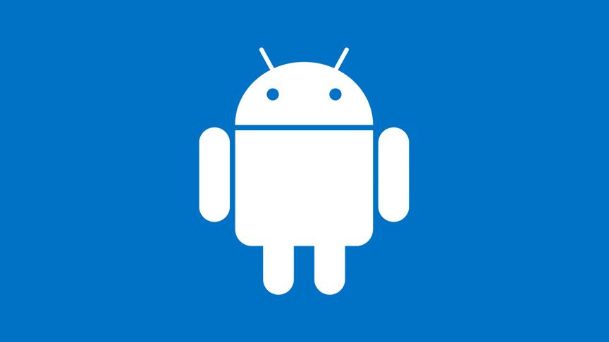 logo android biru